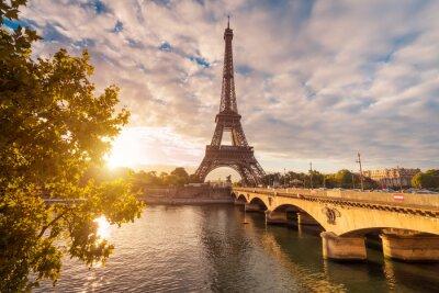 Quadro Eiffelturm em Paris