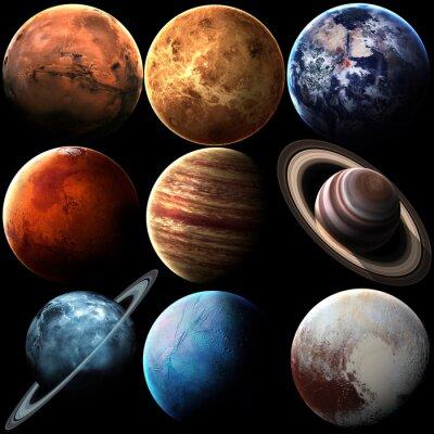 Quadro Elementos desta imagem fornecidos pela NASA