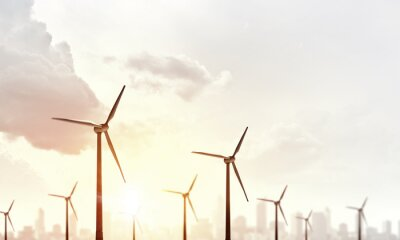 Quadro Energia eólica alternativa