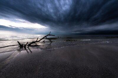 Quadro Escuro, nuvens, oceânicos