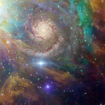 Quadro Espaço Profundo