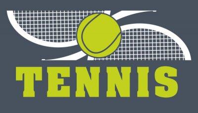 Quadro esporte do tênis