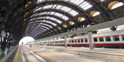 Quadro Estação Central di Milano