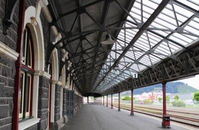 Quadro Estação Ferroviária de Dunedin