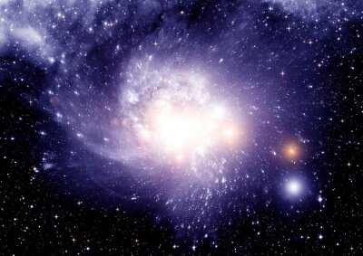 Quadro Estrelas, poeira e nebulosa de gás