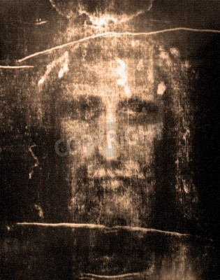 Quadro Face of Jesus from  Shroud of Turin