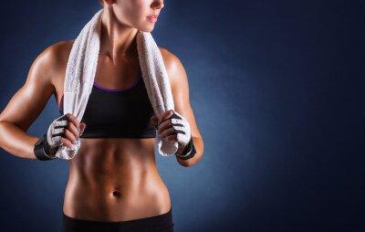 Quadro Fitness mulher