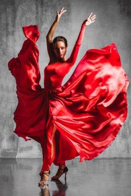 Quadro flamenco dancer
