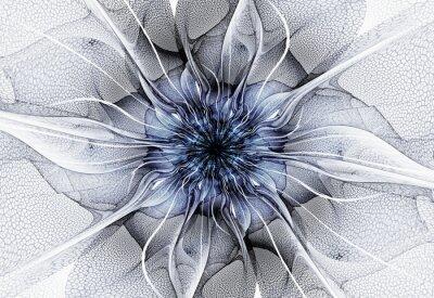 Quadro Flor futurista