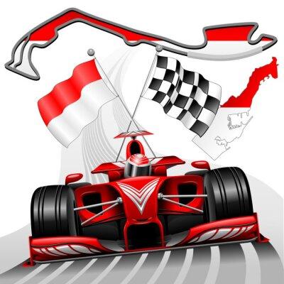 Quadro Formula 1 GP de Mônaco