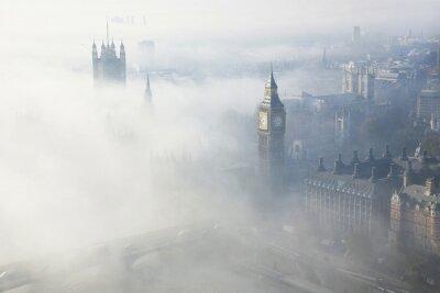 Quadro Forte nevoeiro atinge Londres