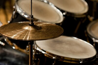 Quadro Fragmento drumset close up