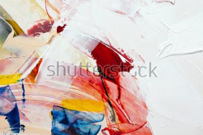 Quadro fundo abstrato pintado