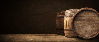 Quadro Fundo, barril