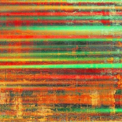Quadro Fundo colorido do Grunge. Com testes padrões diferentes da cor: amarelo (bege); Laranja vermelha); verde; preto