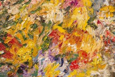 Quadro Fundo da pintura a óleo. Conceito da arte.