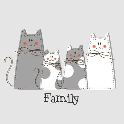 Quadro Fundo Família