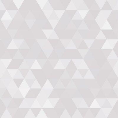 Quadro Fundo geométrico abstrato de polígonos triangulares
