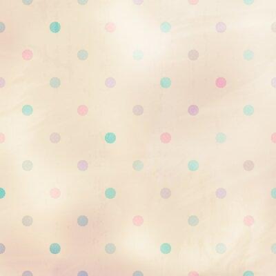 Quadro fundo pastel com pontos