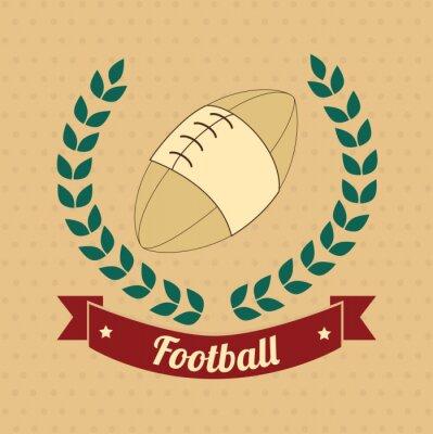 Quadro futebol americano
