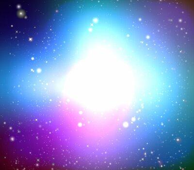 Quadro Galáxia Cor