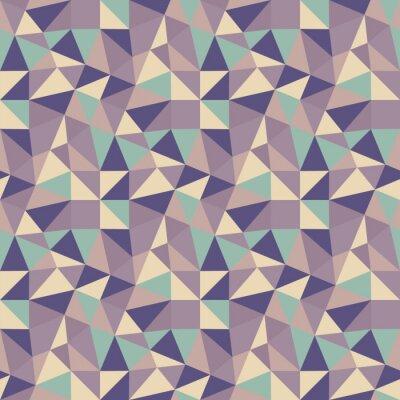 Quadro Geometric fundo Triângulos. Mosaic.