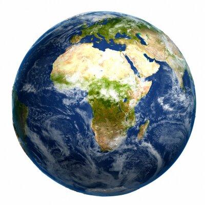 Quadro Globo da terra mapa