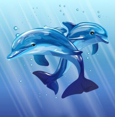 Quadro Golfinhos