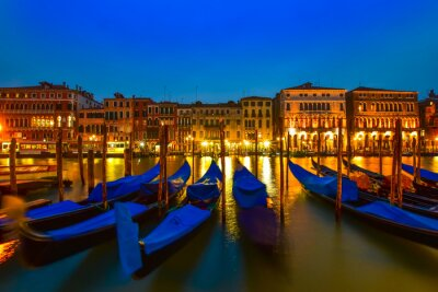 Quadro Gôndola, grandioso, canal, veneza, itália