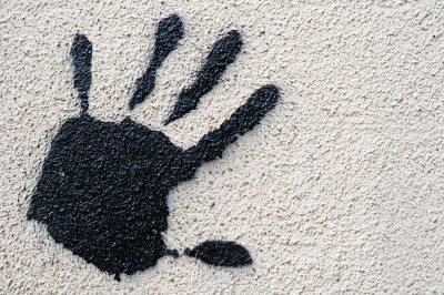 Quadro Graffiti estilo moderno