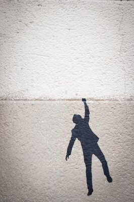 Quadro Graffiti personnage