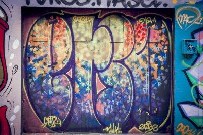Quadro Graffitis couleurs pétantes