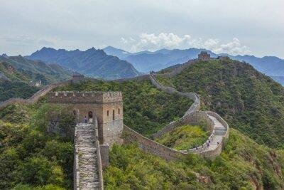 Quadro Grande Muralha da China Jinshanling
