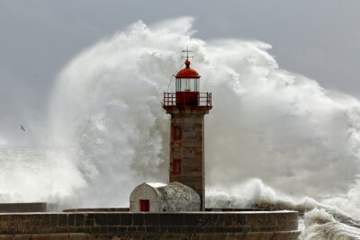 Quadro Grandes ondas de tempestades