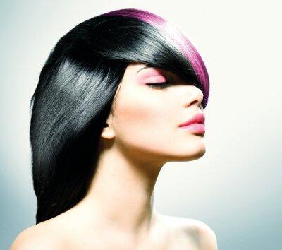 Quadro Hair Fashion. Penteado