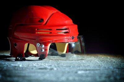 Quadro Hockey No Gelo