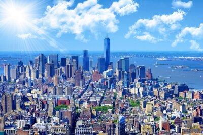 Quadro Horizonte de Manhattan