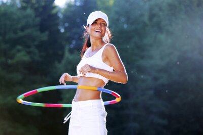 Quadro hula hoop
