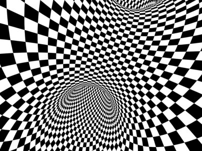 Quadro Ilusão abstrata