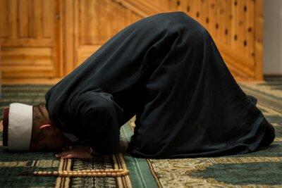 Quadro Imam orando