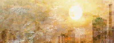 Quadro Impressão de Sun City