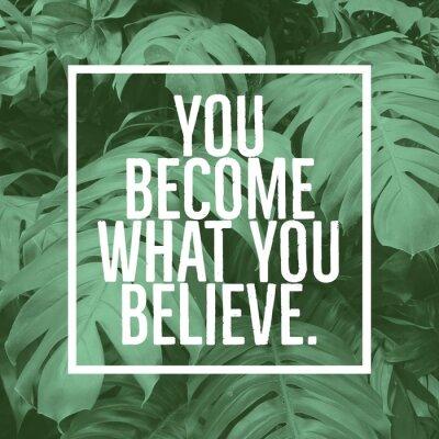 Quadro Inspiradora citação motivacional