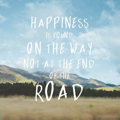 Quadro Inspirational motivational quote