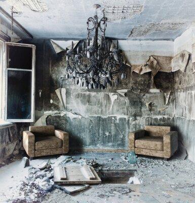 Quadro interior abandonado