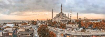 Quadro Istambul - City skyline panorâmica