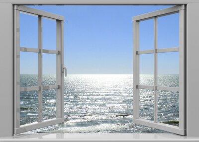 Quadro Janela aberta para o verão - 3D