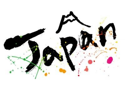 Quadro japan_moji_color