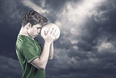 Quadro Jogador de futebol