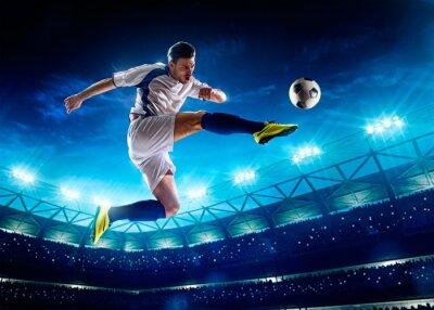 Quadro Jogador de futebol na ação