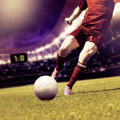 Quadro jogo de futebol